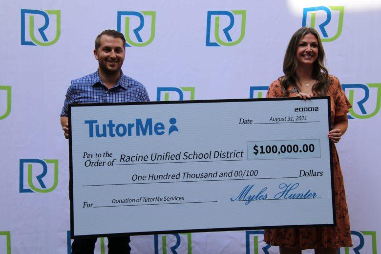 Racine Unified School District, RUSD, TutorMe