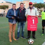 El Racing homenajeó como jugador leyenda al portero Jaime Ruíz