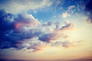 Dreamy clouds.