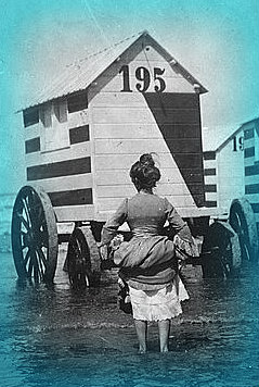 Victorian Bathing Machines Beach Wear Then And Now