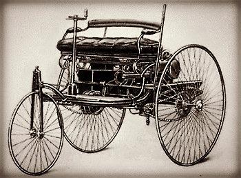 Benz Tri-Car, 1885.