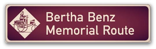 Bertha Benz Memorial Route Sign.