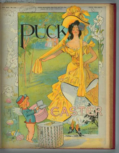 Puck Magazine, Easter, 1899.
