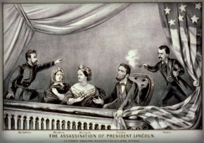 Assassination of President Lincoln, Currier & Ives.