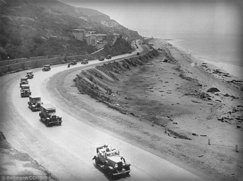 Early Pacific Coast Highway.