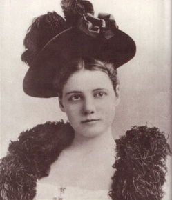 Nellie Bly's Fashionable Hat.
