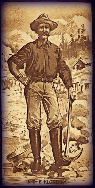Klondike Miner, 1899.