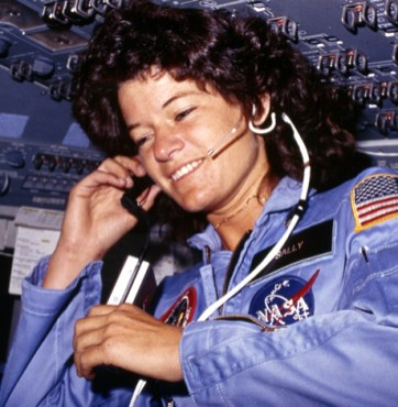 Sally Ride.