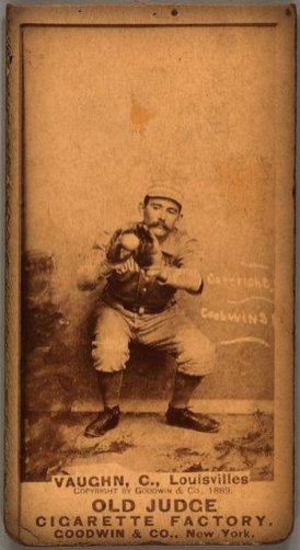 Farmer Vaughn, Louisville Colonels, 1887.