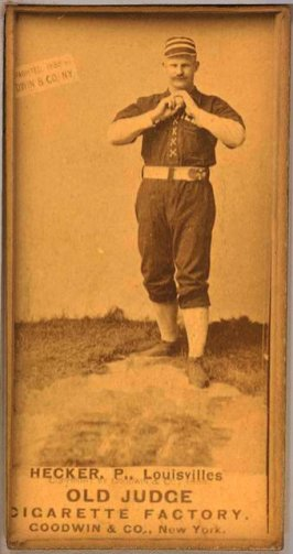 Guy Hecker, Louisville Colonels, 1887.