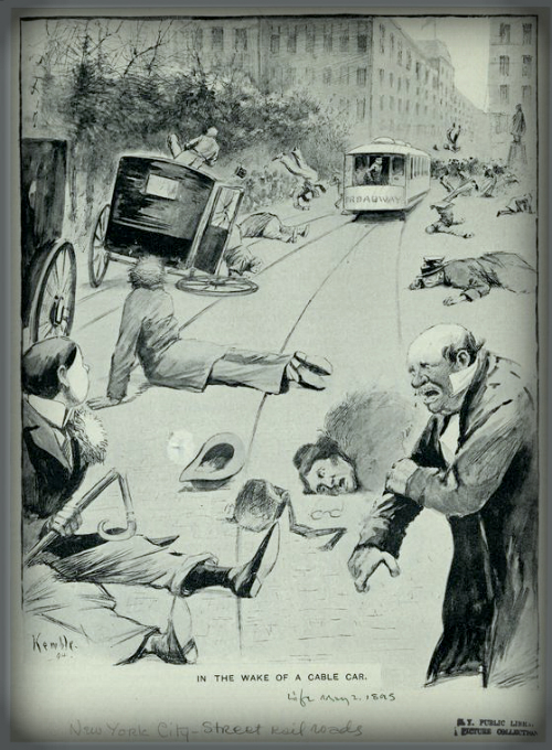 Life Magazine Illustration, 1894.