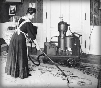 Early Vacuum Cleaner.