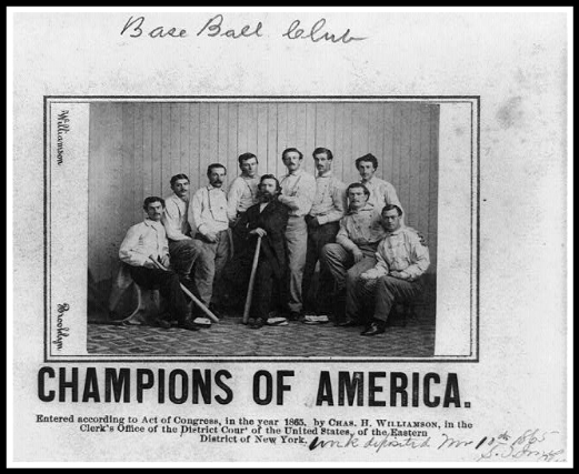 Champions of America, 1865.