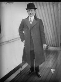 Guglielmo Marconi, 1915. Library of Congress.