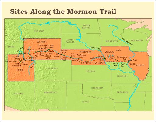 Mormon Trail, By Dlm82.
