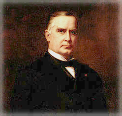 President McKinley With Carnation: Harriet Anderson Stubbs Murphy.