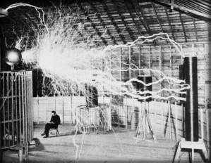 Tesla's Wireless Power, Colorado 1899. Dickenson V. Alley for Century Magazine.