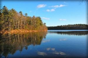 Henry David Thoreau: Walden Pond, Photo by Allahabad, India-Wikipedia.