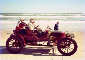 Tom Marshall Drives Model K, Ormond Beach 2005.