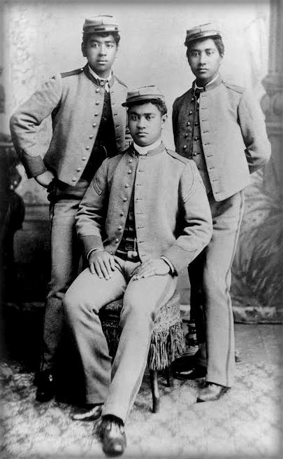 Three Hawaiian Princes, Late 1800s.