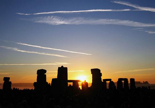 Stonehenge. Photo: Andrew Dunn, 2005.