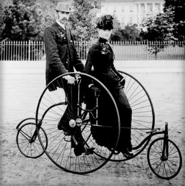 Bicycle for Two, 1886.
