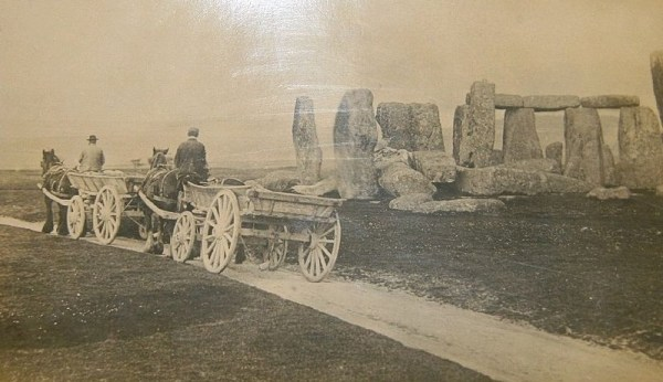 Stonehenge, 1885.