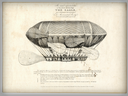 British Dirigible, The Eagle. Photo: National Air and Space Museum.