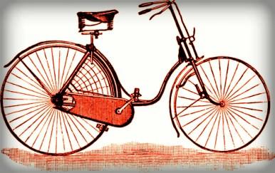 Woman's Safety Bike, 1889.