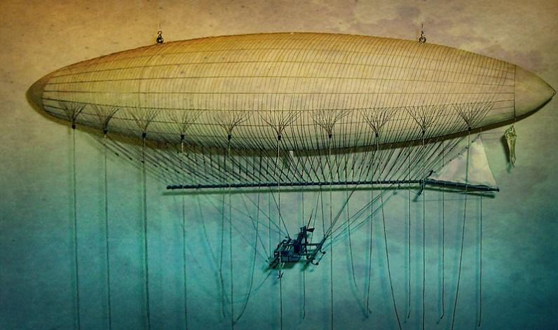 Henri Giffard 1852 Airship Model, London Science Museum. Photo: Mike Young.