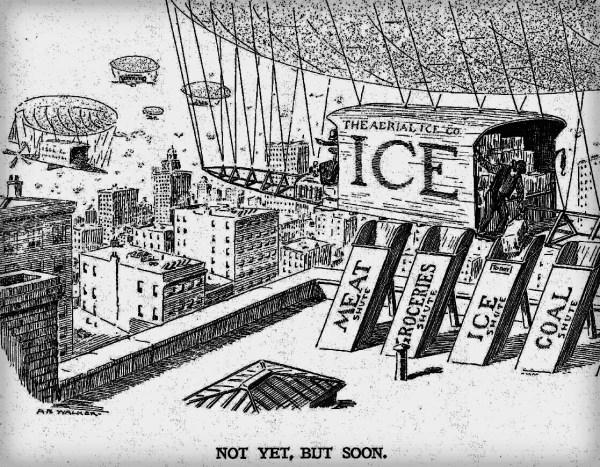 Harper's Weekly Cartoon, June 15, 1907. From HarpWeek, N.Y.Times.