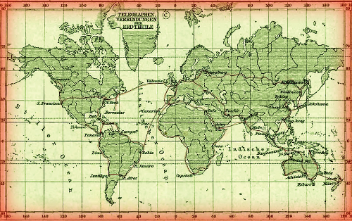 Telegraph Lines, 1891.
