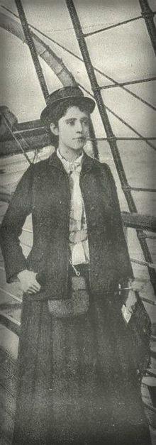 Elizabeth Bisland Races Nellie Bly Around World.