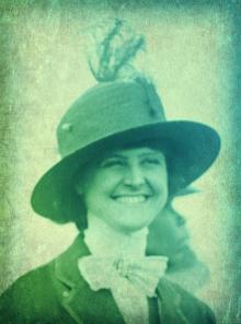 Aida de Acosta (Mrs. Oren Root).