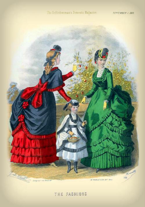 The Englishwoman's Domestic Magazine, 1869. Photo: Wikipedia.