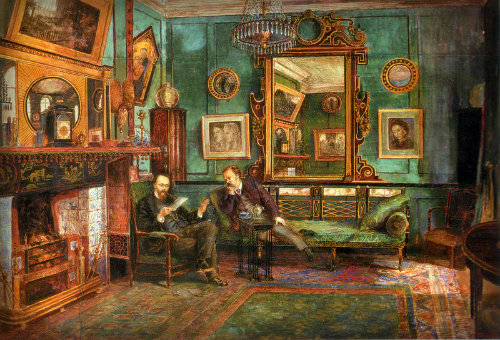 Painting by Henry Treffry Dunn, 1882. Image: Wikipedia.