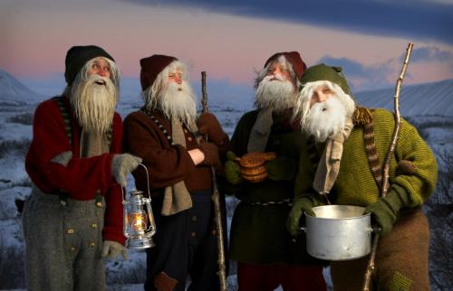 Yule Lads In Dimmuborgir. Photo: northiceland.is.