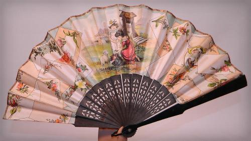 Victorian Era Fan. Image: 1860-1960.com.