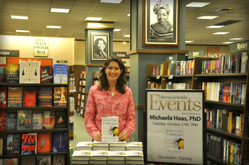 Michaela Haas, PhD., Barnes and Noble.