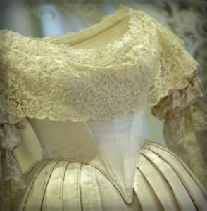 Queen Victoria's Wedding Dress.
