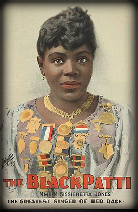 The Black Patti Troubadours, Sissieretta Jones, 1889.