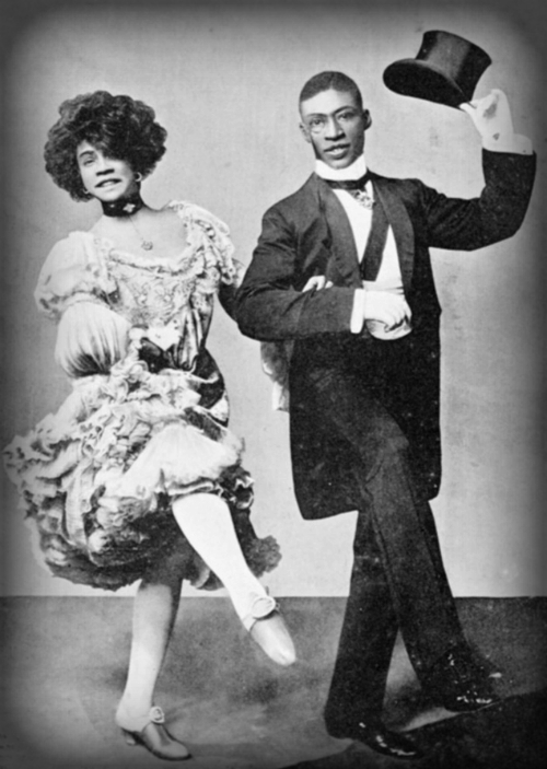 "Aida Overton Walker and George Walker Dance On London Tour Of - ""In Dahomey"" 1903."
