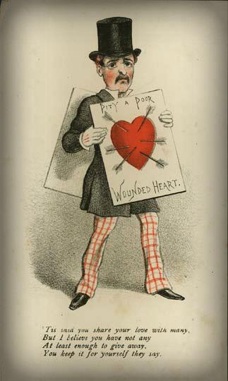 Victorian Era: Vinegar Valentine.