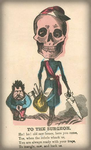 Victorian Era Vinegar Valentine: To The Surgeon.