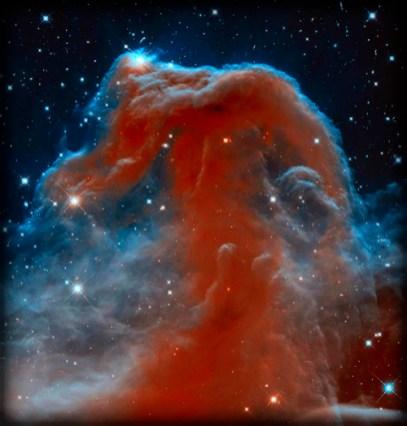 Hubble Image Of Horsehead Nebula. Image: Wikipedia.
