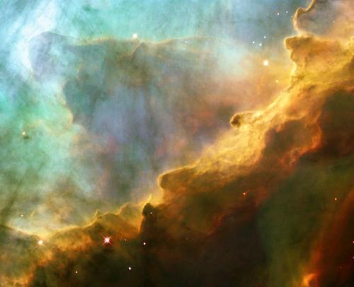 Omega nebula. Image: JPL/NASA.