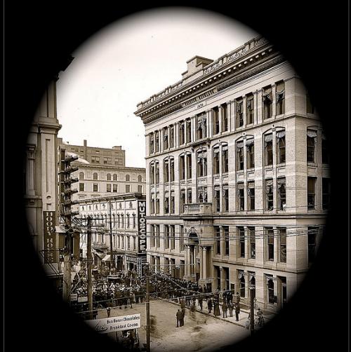 Mutoscope Parlor, 1899: David Lee Gus.