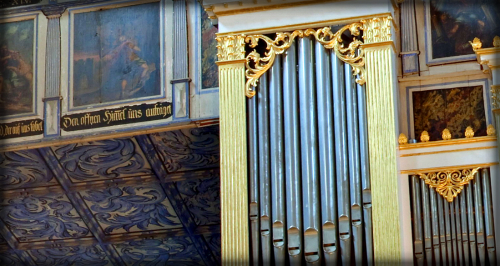 Jawor Church, Organ of Victorian Era. Jan Zieba Panoramic Photography.