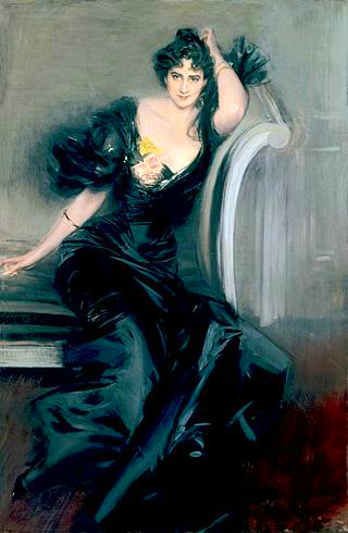 Lady Colin Campbell, 1897 by Giovanni Boldini.