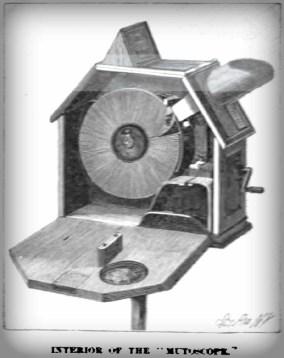 Mutoscope Interior. Imge: Wikipedia.
